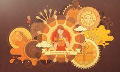 Sweet Joy Project by Carol Rivello, via Behance