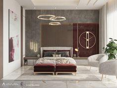 Bedroom Wall Designs, Room Design Bedroom, Bedroom Furniture Design, Home Room Design, Modern Luxury Bedroom, Master Bedroom Interior, Modern Bedroom Design, Luxurious Bedrooms, Decoration