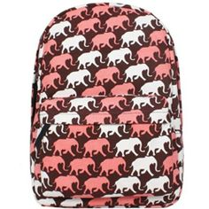 Crazycity New Trendy Fashion Unisex Cartoon Elephant Print Backpack Leisure Backpack Casual School Bag Rucksack Korean Knapsack Laptop Backpack Shoulders Backpack for Teens Students Women Ladies Girls Boys (Red) Tinksky http://www.amazon.com/dp/B00EWDO2I2/ref=cm_sw_r_pi_dp_mMTQtb0KCE8KNTC4