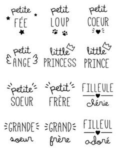 The illustrations with the exclusive Happybulle design Word Stencils, Bullet Journal Lettering Ideas, Silhouette Portrait, Stencil Designs, Doodle Designs, Photoshop, Planner, Vintage Travel Posters, Tee Design