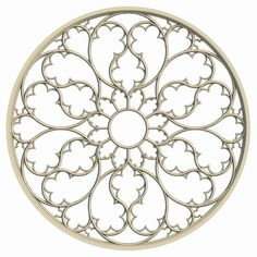 Elegant Gothic Rose Window on Behance - Inspired by Gothic Design - Architecture Gothic Windows, Church Windows, Gothic Pattern, Rose Window, Stained Glass Patterns, Window Design, Geometric Art, Islamic Art, Sculpture Art