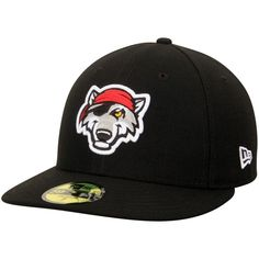 Erie SeaWolves New Era Home Authentic Collection On-Field Low Profile 59FIFTY Fitted Hat - Black