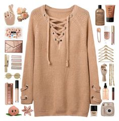 Untitled #164 by chelseaanna1 on Polyvore featuring Rebecca Minkoff, Georgia Perry, Mara Hotung, Le Specs, Urban Decay, NARS Cosmetics, Too Faced Cosmetics, Stila, Bare Escentuals and philosophy