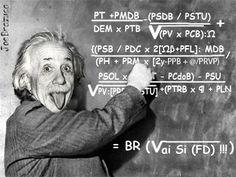 Equação da Política Avançada de Einstein.
