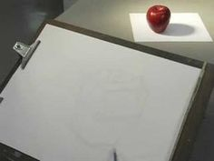 Clear tutorial on how to do a cross contour drawing of an apple. High School Drawing, High School Art, Middle School Art, Drawing Skills, Drawing Lessons, Art Lessons, Isometric Drawing Exercises, Elements Of Art Line, Otis College