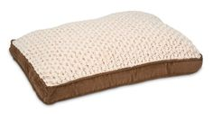 Petmate Deluxe Swirl Plush Pet Bed, Suede, 27 By 36 Inches * Read more reviews of the product by visiting the link on the image.
