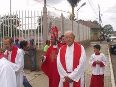 La parroquia de San Marcos, en Carazo Nicaragua, estuvo de fiesta el sábado, 25 de abril, celebrando la Fiesta litúrgica de San Marcos, Evangelista, su Santo Patrono.