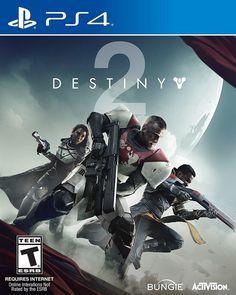 Brand New Sony PlayStation 4 Slim PS4 1TB Jet Black Console with Destiny 2 Game #Sony