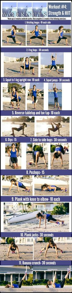 Strength & HIIT Workout | Fitnessista Summer Shape Up