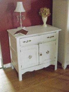 Vintage Quebec wash stand