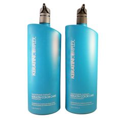 KERATIN COMPLEX Smoothing Therapy Keratin Color Care Shampoo and Conditioner Duo Liter