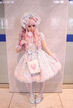 Lolita - super feminine but guys arnt into it. ITS A SUPER STATMENT