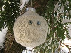 Ravelry: Owl Holiday Ornaments pattern by Rae Blackledge