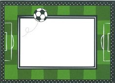 Resultado de imagen para invitaciones de cumpleaños para imprimir gratis personalizadas de futbol