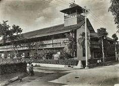 Hotel Papandajan te Garoet 1915.