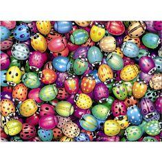 Puzzle Mariquitas 500 piezas, Educa http://sinpuzzle.com/puzzle-500-piezas/526-comprar-puzzle-mariquitas-500-p.html