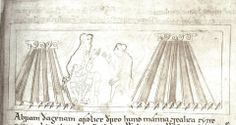 11th century (1025-1050AD), England. The Old English Hexateuc, Cotton MS Claudius B.IV
