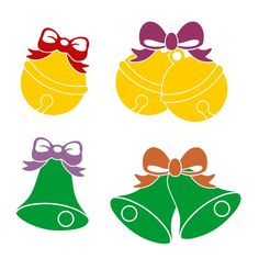 Christmas Jingle Bell Cuttable Design Cut File. Vector, Clipart, Digital Scrapbooking Download, Available in JPEG, PDF, EPS, DXF and SVG. Works with Cricut, Design Space, Cuts A Lot, Make the Cut!, Inkscape, CorelDraw, Adobe Illustrator, Silhouette Cameo, Brother ScanNCut and other software.