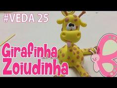 DIY - Girafinha Zoiudinha - Sah Passa o Passo #VEDA 25 - YouTube
