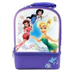 Disney Fairies Thermos Insulated Double Compartment Lunch Bag$14.99