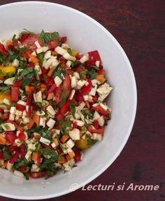 zarzavat Jacque Pepin, Caprese Salad, Food And Drink, Yummy Food, Ethnic Recipes, Cookies, Salads, Biscuits, Delicious Food