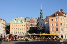 Riga is a fascinating mixture of proud Latvian tradition and influences from various neighbouring countries