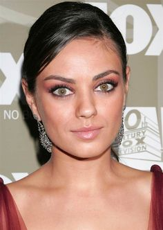"""Actress Mila Kunis (""""Forgetting Sarah Marshall) has a green eye and a brown one."""