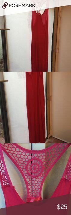 Beautiful red dress Beautiful pink dress . Great condition Dresses Maxi