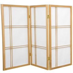 3 ft. Tall Double Cross Shoji Screen | RoomDividers.com