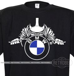 Mens T-shirt BMW motorcyclesCafe Racer shirt Bmw Classic