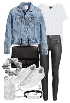 """Untitled #18952"" by florencia95 ❤ liked on Polyvore featuring MANGO, Uncommon, H&M, Topshop, Monica Vinader and Cartier"