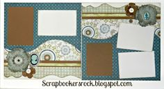 New Avonlea papers and Artiste Cricut bundle. Scrapbookersrock. blogspot.com