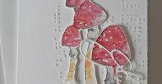 Noch  ein Glückspilzkärtchen....           Liebe Grüsse Manuela       Material: aus der kreativen Box September, bald in der Erlebniswelt , ...