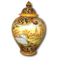 Vaso in ceramica - Le ceramiche di Caltagirone