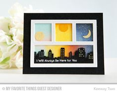 Blueprints 27 Die-namics, Skyline Border Die-namics, Adorable Elephants - Keeway Tsao #mftstamps