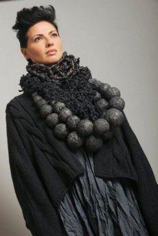 kedem sasson - Israeli fashion designer Street Style girl fashion womens fashion Spring 2014 Fashion Trends New Fashion Tr. Vetements Clothing, Moda Fashion, Womens Fashion, Cool Outfits, Fashion Outfits, Mode Boho, Scarf, Contemporary Jewellery, Donna Karan