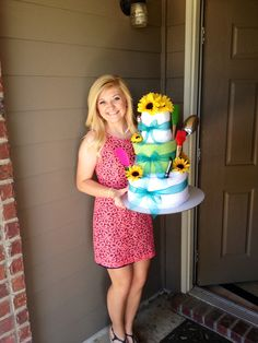 My bridal shower kitchen cake!