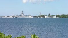 Arizona Memorial in Pearl Harbor