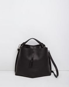 Maison Margiela Line 11 | Large Offset Bucket Bag | La Garçonne