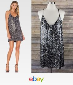 9ad80c3589 Kendall + Kylie Women s Multi Sequined Cocktail Party Dress M Myer Dresses