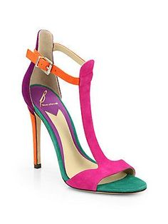 B Brian Atwood Leigha T-Strap Sandals