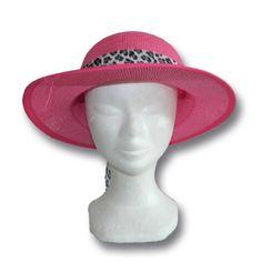 chapeau casquette rose - Vannerie Sana