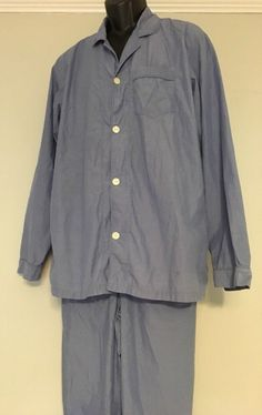 UK 12-14 NAUTICA FLEECE PJ TOP Pyjama Blue /& White Spotty M NEW 40-42