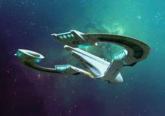 Concept Ships, Concept Art, Stargate, Space Story, Starship Concept, Sci Fi Spaceships, Arte Robot, Sci Fi Ships, Star Trek Starships