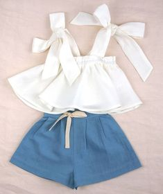 Clothing designs for little girls. Online shopping with worldwide shipping. Styl… Clothing designs for little girls. Online shopping with worldwide shipping. Stylish, feminine detailing with a playful twist. Teen Fashion Outfits, Baby Girl Fashion, Kids Fashion, Fashion Shoes, Toddler Outfits, Kids Outfits, Casual Outfits, Baby Outfits, Cute Summer Outfits