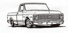1981 Chevy Pickup Truck drawings | Retro Truck Parts-Your Online Source for 67-87 Chevrolet Pickup and 64 ...