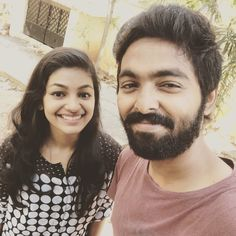 Kaathu and arasi at Naachiyaar promotions   GVprakash - Ivana