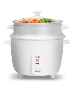 Look at this #zulilyfind! White Elite Gourmet 8-Cup Rice Cooker #zulilyfinds