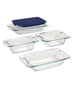 Pyrex Five-Piece Bakeware Set