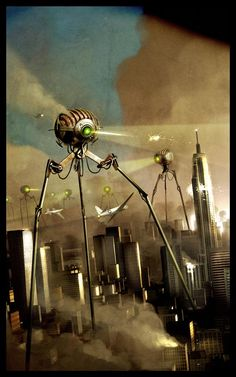 Benjamin Carré Gallery | War of the Worlds